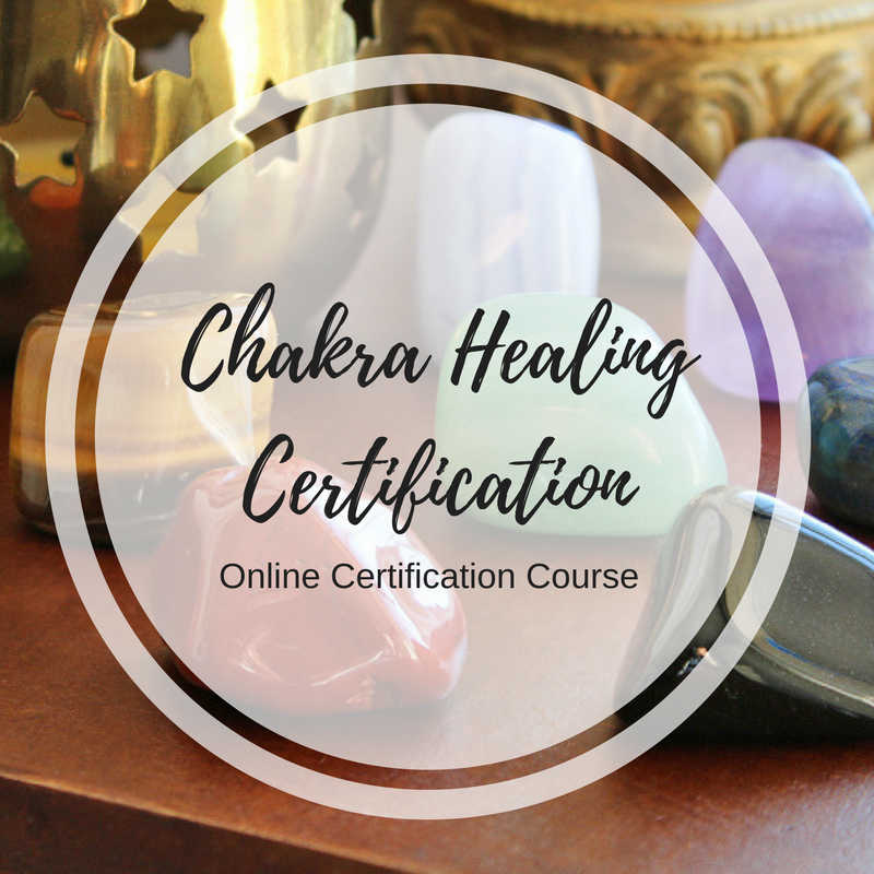 Certified Chakra Healing Confirmation The Soul Filled Yogi Crystal