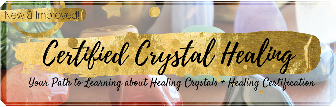 Crystal Healing Certification - Jenn Morgan- Crystal Healing