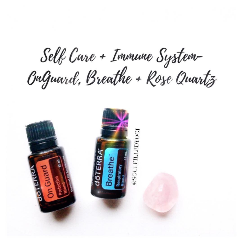 Crystals + Oils Day 8: Self Love with Rose Quartz & On Guard - Jenn