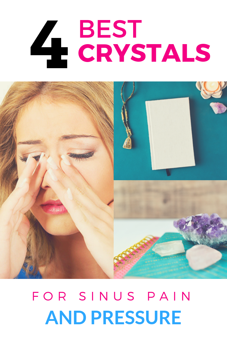Crystals for Sinus Pain & Pressure Relief - Jenn Morgan- Crystal