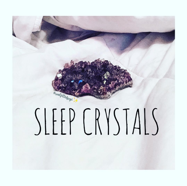 I Suffer From Random Bouts Of Insomnia And A Lot Anxiety Around Sleeping This Is One The Things Used My Crystals For To Stimulate Sleep Help